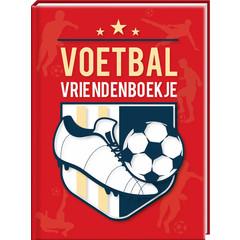 Voetbal met Gratis Stickervel - Vriendenboek