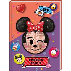 Vriendenboek Minnie Mouse Emoji met stickervel