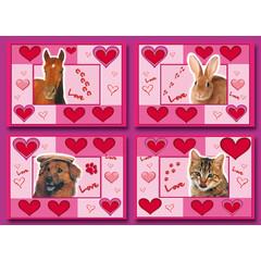 Love Animals - Prentkaarten