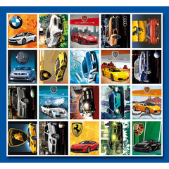 Stammetjes Auto's - Stickervel