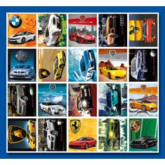 Stammetjes Snelle auto's - Stickervel