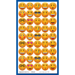 Stammetjes Emoticons - Stickervel