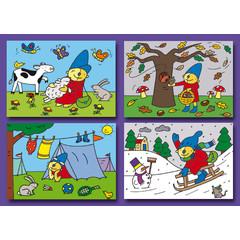 A7 Kleine kaarten Pompom