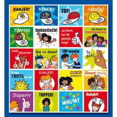 Stammetjes Voor 'Kanjers'  - Stickervel
