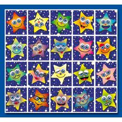 Stammetjes Stickervel sterren
