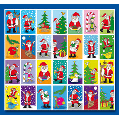Stammetjes Kerst - Stickervel