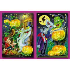 Prentkaarten Halloween-