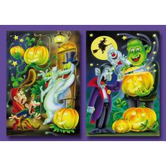 Kleine kaarten Halloween