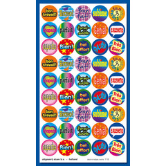 Stammetjes Franse 'Kreten' - Stickervel