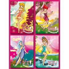 A5 Grote kaarten dansende feeën
