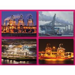 A5 Grote kaarten havenbeelden