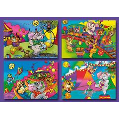A7 Kleine kaarten circus