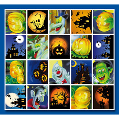 Stammetjes Stickervel Halloween