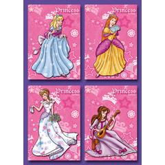 Kleine kaarten prinsessen
