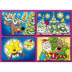 A6 Prentkaarten Kerst