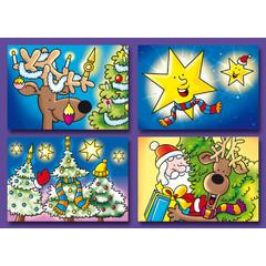 A7 Kleine kaarten Kerst