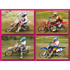 A5  Grote kaarten motorcrossers