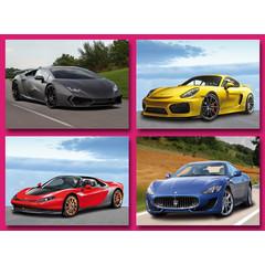 Sportwagens - Grote Ansichtkaarten