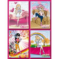Top Model Girl - Grote Kaarten Serie 913