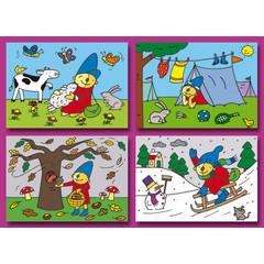 A6 Prentkaarten Pompom