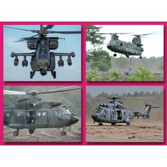 Grote kaarten  - helicopters