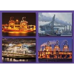 Kleine kaarten havenimpressies