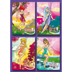 Kleine kaarten danseressen