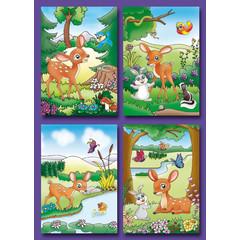 Kleine kaarten bambies
