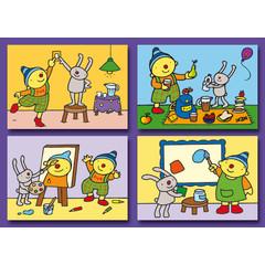 Kleine kaarten Puk