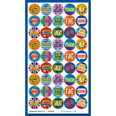 Stammetjes Engelse 'kreten' - Stickervel