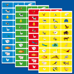 Stammetjes Pictogrammen - Stickervel
