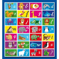 Stammetjes Alfabet - Stickervel