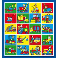 Stammetjes Getekende Machines - Stickervel