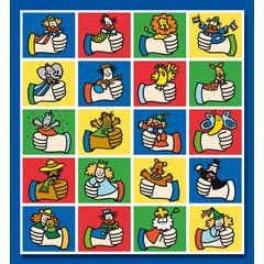 Stammetjes Dikke Duimen - Stickervel