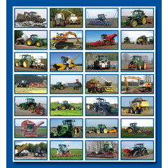 Stammetjes Stickervel landbouwmachines
