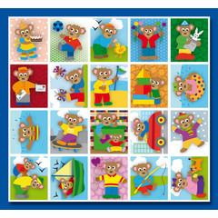 Stammetjes Getekende beren - Stickervel