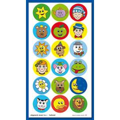 Stammetjes Lachebekjes - Stickervel