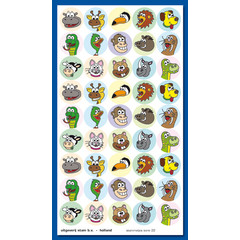 Stammetjes Stickervel fantasie dieren