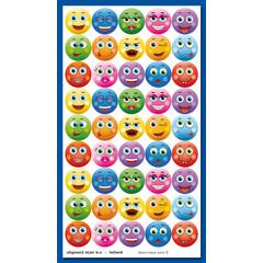 Stammetjes Stickervel 'gezichtjes'