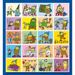Stammetjes Puk - Stickervel