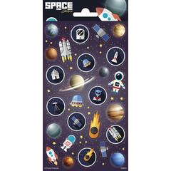 Space - Stickervel
