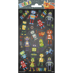 Robots - Stickervel