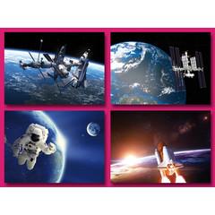 A5 Grote kaarten ruimtevaart