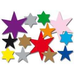 Plakfiguren sterren