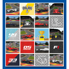 Stammetjes Stickervel F1 auto's