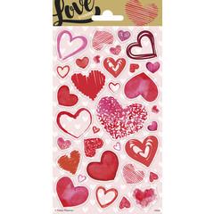 Stickervel Love hearts