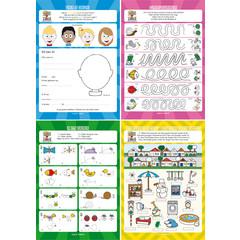 Speel-, werk- en leermap 'lezen en schrijven'