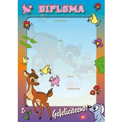 Diploma 1038 bosdieren