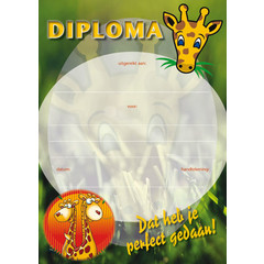 Diploma 1051 giraffe