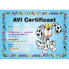 AVI certificaat 1057 hond